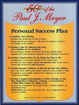 my personal success plan Learn what you need to consider when writing a personal development plan plus, you can download our free personal development plan template.